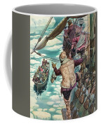 Henry Hudson Being Set Adrift Coffee Mug