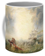 Henry Redmore Running Up The Coast In Heavy Seas, 1856 Coffee Mug