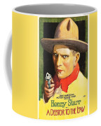Henry Starr In A Debtor To The Law 1919 Coffee Mug