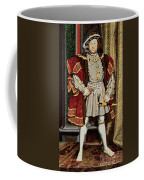 Henry Viii Coffee Mug by Hans Holbein the Younger
