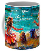 Her Blue Bucket Coffee Mug