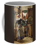 Her First Born Coffee Mug by Walter Langley