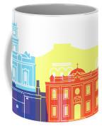 Heraklion Skyline Pop Coffee Mug