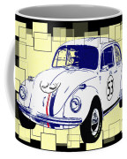 Herbie The Love Bug Coffee Mug