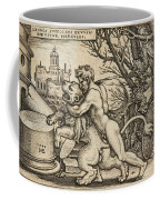 Hercules Killing The Nemean Lion Coffee Mug