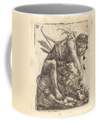 Hercules Overcoming The Nemean Lion Coffee Mug
