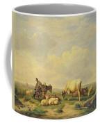 Herdsman And Herd Coffee Mug