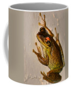 Heres Looking At You Coffee Mug by Kristin Elmquist