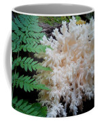 Mushroom Hericium Coralloid Coffee Mug