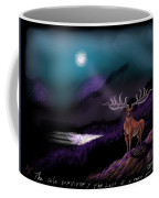 Heroic Landscapes #22- Great Irish Elk Coffee Mug
