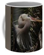 Heron Close-up Coffee Mug