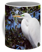 Heron Deep Contemplation Coffee Mug