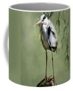 Heron Egret Bird Coffee Mug