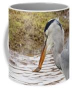 Heron Harpoon Coffee Mug