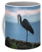 Heron In Colchester Coffee Mug