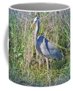 Heron In The Wetlands Coffee Mug