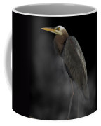 Heron On A Foggy Morning Coffee Mug