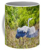 Heron On The Rise Coffee Mug