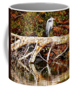 Heron Perch Coffee Mug