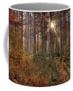 Heron Pond Cypress Trees Coffee Mug