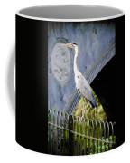 Heron Show Off Coffee Mug