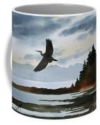 Heron Silhouette Coffee Mug