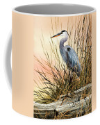 Heron Sunset Coffee Mug by James Williamson