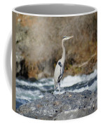 Heron The Rock Coffee Mug