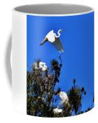Heron Trio Coffee Mug