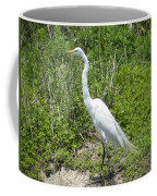 Heron Watching Coffee Mug