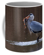 Heron With Perch Coffee Mug