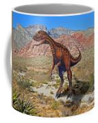 Herrarsaurus In Desert Coffee Mug