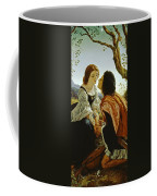 Hesperus The Evening Star Sacred To Lovers Coffee Mug by Sir Joseph Noel Paton