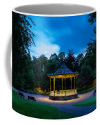 Hexham Bandstand At Night Coffee Mug