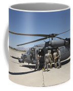Hh-60g Pave Hawk With Pararescuemen Coffee Mug