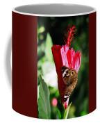 Hibiscus Aflutter Coffee Mug