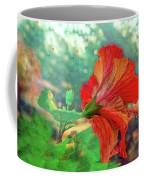Hibiscus Flame Coffee Mug
