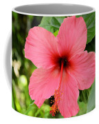 Hibiscus Front Coffee Mug