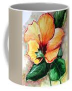 Hibiscus  Sunny Coffee Mug