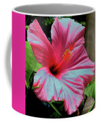 Hibiscus With A Solarize Effect Coffee Mug