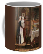 Hickory Dickory Dock  Coffee Mug by Edith Hopkins