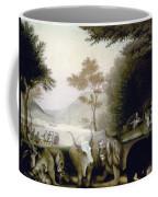 Hicks: Peaceable Kingdom Coffee Mug
