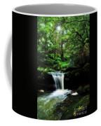 Hidden Rainforest - Painterly Coffee Mug