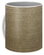 Hieroglyph V Coffee Mug