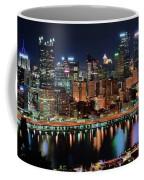 High Above Pittsburgh Coffee Mug