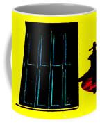 High Contrast Window And Lamp Coffee Mug