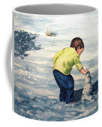 High Country Snow Girl Coffee Mug