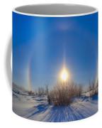 High Dynamic Range Photo Of Sundogs Coffee Mug