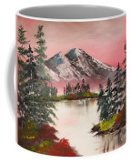 High Lakes Summer Sunset Coffee Mug