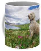 High Meadow With Eyes To The Sky Coffee Mug